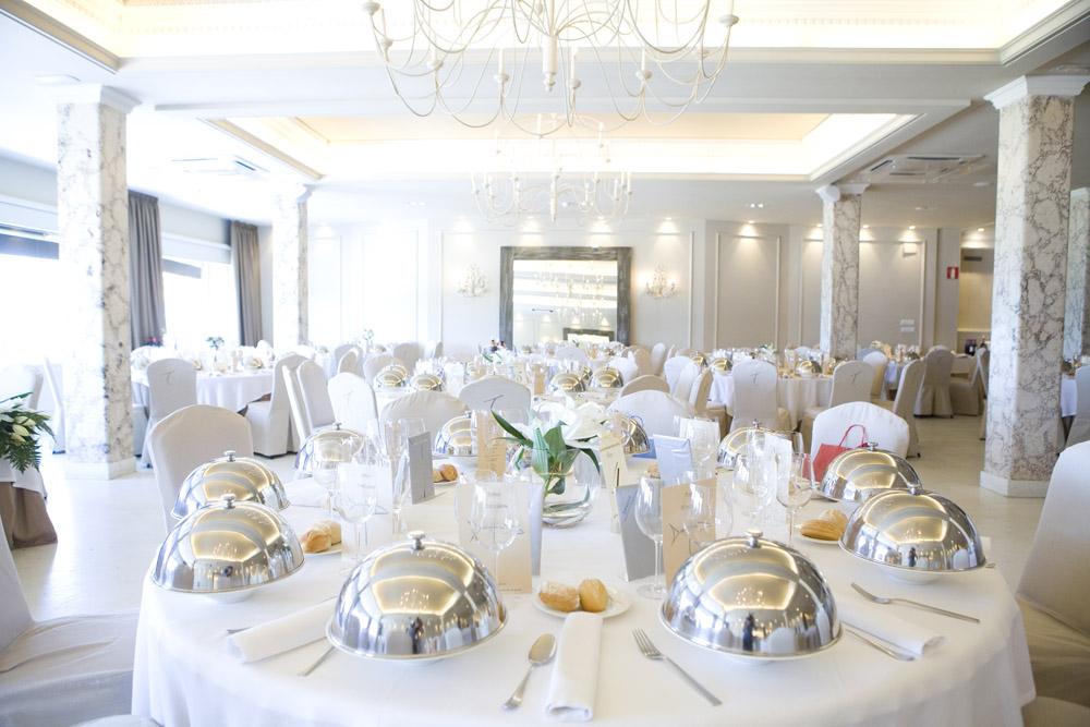 Salón boda Tamarises Izarra