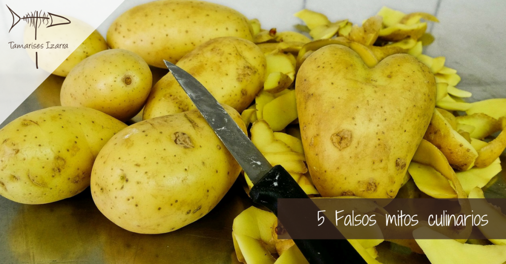 5 Falsos mitos culinarios