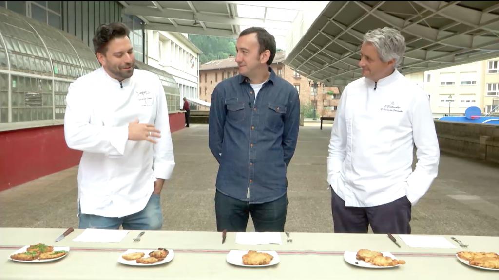 Fernando canales, Iñigo Salinero, Javier Izarra